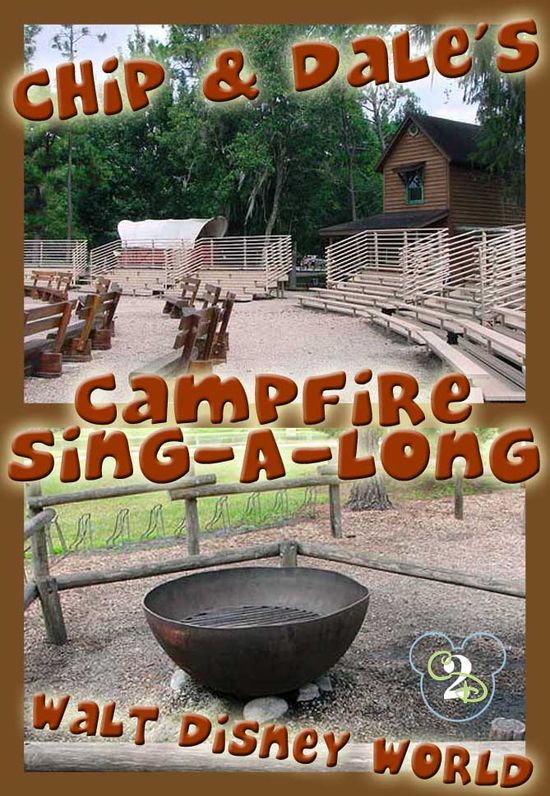 FREE Chip and Dale Campfire Sing-Along at Walt Disney World! It is located at Ft. Wilderness and it is FREE to everyone, even those aren't staying there. It is a must do on your next Disney trip.