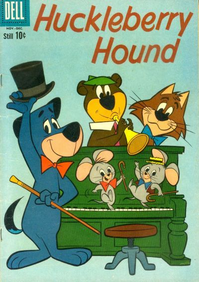 Huckleberry Hound and Friends comic