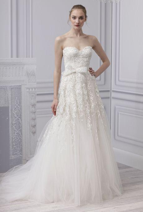 Brides: Monique Lhuillier - Spring 2013 :