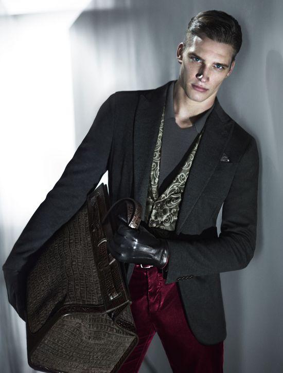 Giorgio Armani Fall/Winter 2013-14 #Fall #Winter #Armani #Fashion #Style