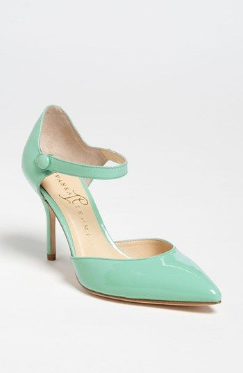 Derby mint hair pairing: Ivanka Trump Mary Jane Pump