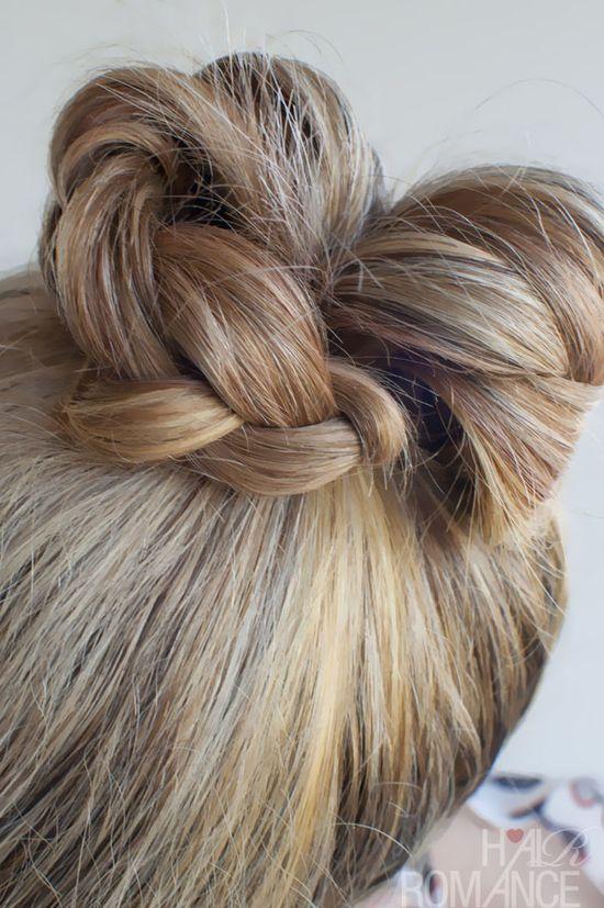 Hair Romance - 30 braids 30 days - 7 - the braid bun