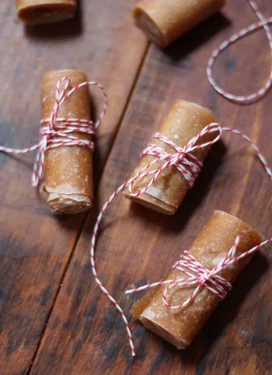 Cinnamon Apple Fruit Leather
