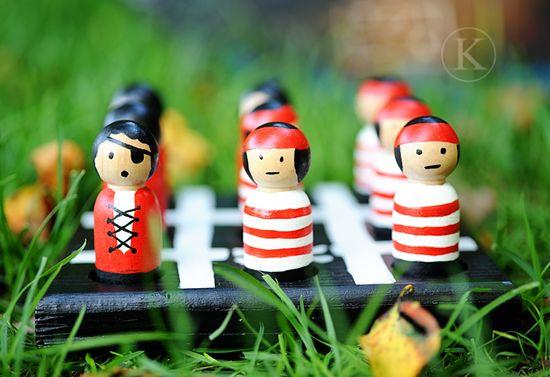 pirate dolls