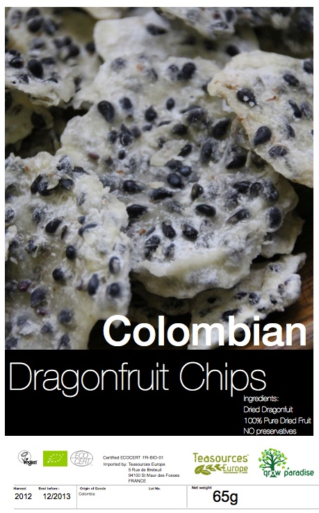 Organic Yellow Pitaya (Dragon Fruit) //  This is very original...
