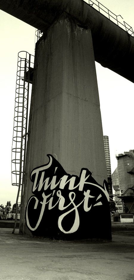 Brilliant typographic grafiti