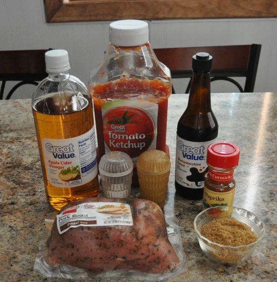Carolina Style Pulled Pork Sandwiches - Crock Pot Freezer Meal