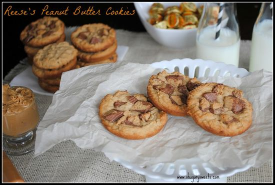Reese's Peanut Butter Cup Cookies