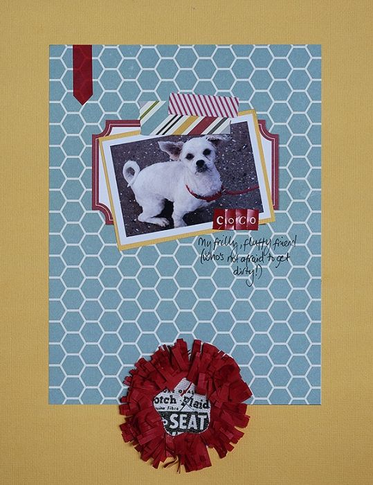 Add Tassels and Fringe to Your Scrapbook Pages for Fun Texture