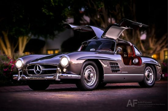 Another #classic Mercedes-Benz 300 SL Coupe caught at the 2012 #Gullwing Group International Convention in La Quinta, CA.    Photo: Royce Rumsey