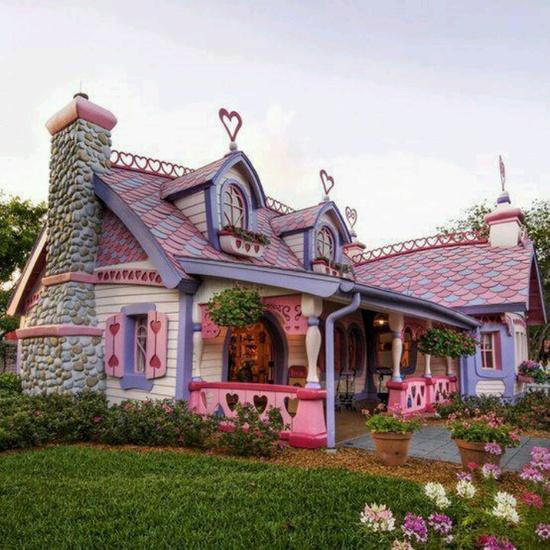Minnies house disney world Orlando ,Florida.