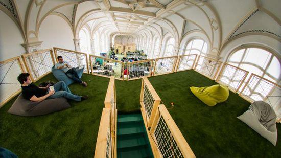Prezi office by Minusplus, Budapest   Hungary