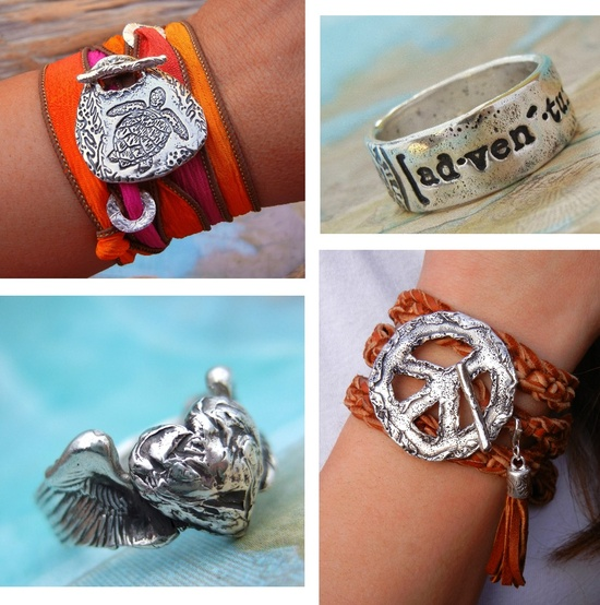 Cool Handmade Silver Jewelry by HappyGoLicky. CLICK to see, REPIN to share & SAVE 10% coupon code: PIN10