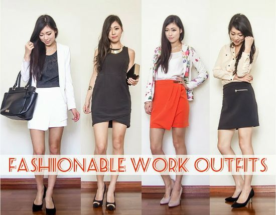 Fashionable Work Outfits