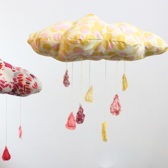 Baby decor - floating cloud