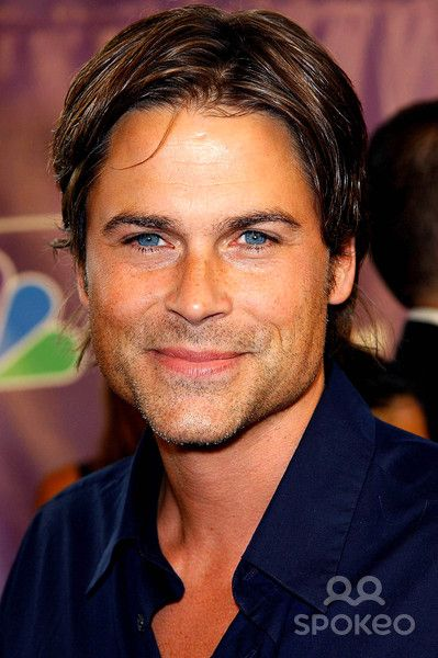 Rob Lowe still hot!  He gets better with age!