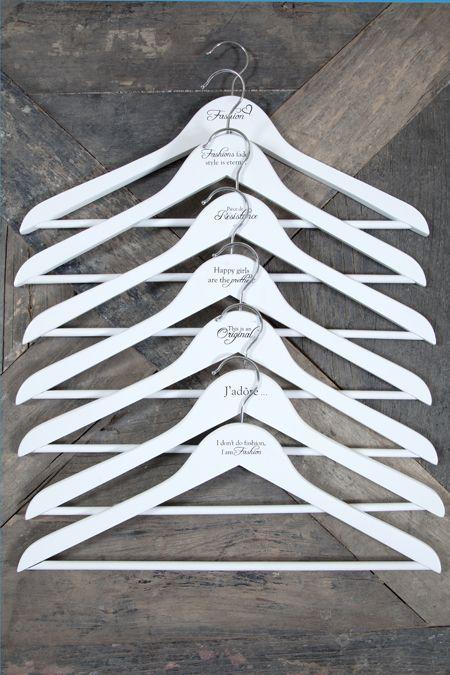 €19,95 RM Famous Quotes Hangers 7pcs  #living #interior #rivieramaison