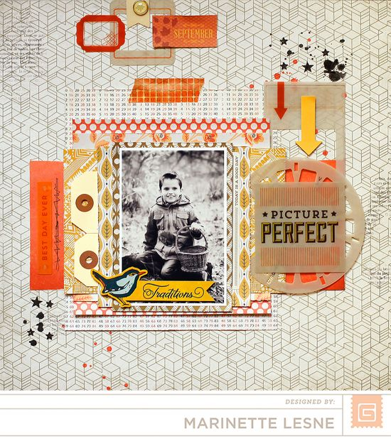 Picture Perfect by Marinette Lesne - Scrapbook.com