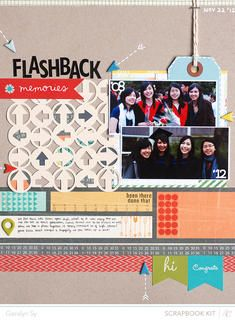 Flashback by qingmei at Studio Calico