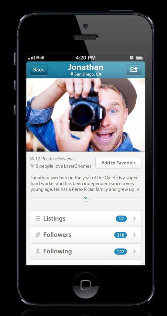 profile #mobile #design #ui