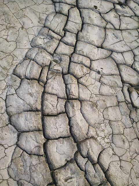 Mud pattern by g h i z i, via Flickr
