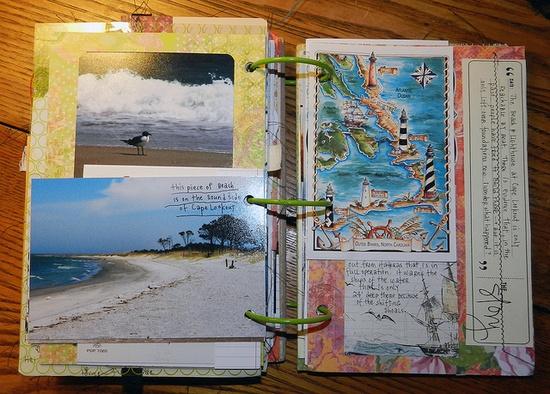 .#art #journal #scrapbook