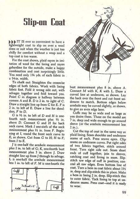 sewing magic coat