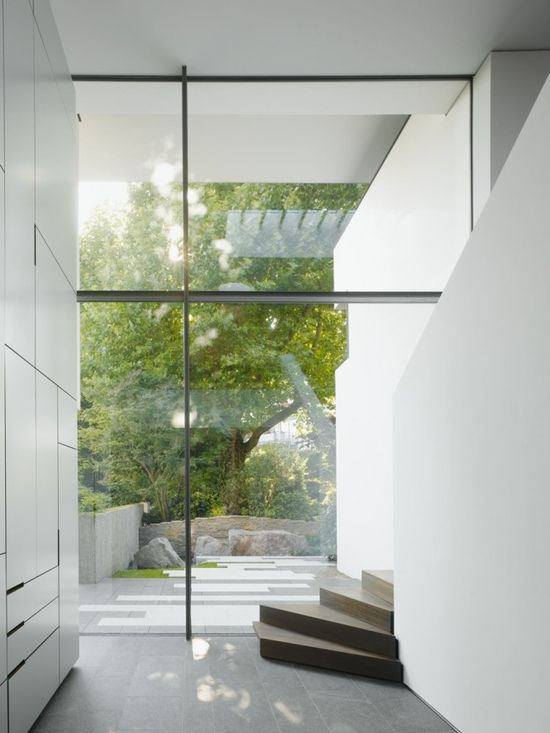 House Heidehof; stuttgart Germany by Alexander Brenner Architects