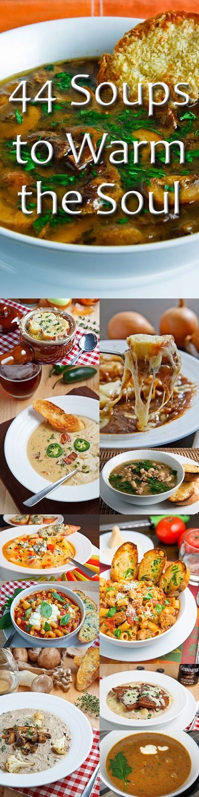 44 Soups to Warm the Soul
