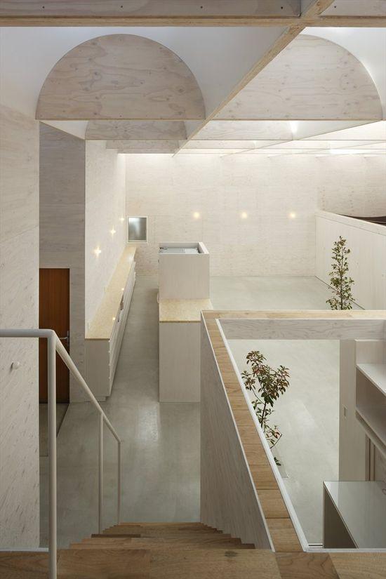 Daylight House, Yokohama, 2011 by Takeshi Hosaka Architecs  #architecture #japan #house #interiors #light