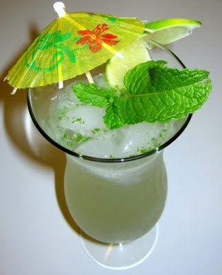 The perfect mojito. I usually go through the effort to make a simple syrup, I think I will try this easier way.