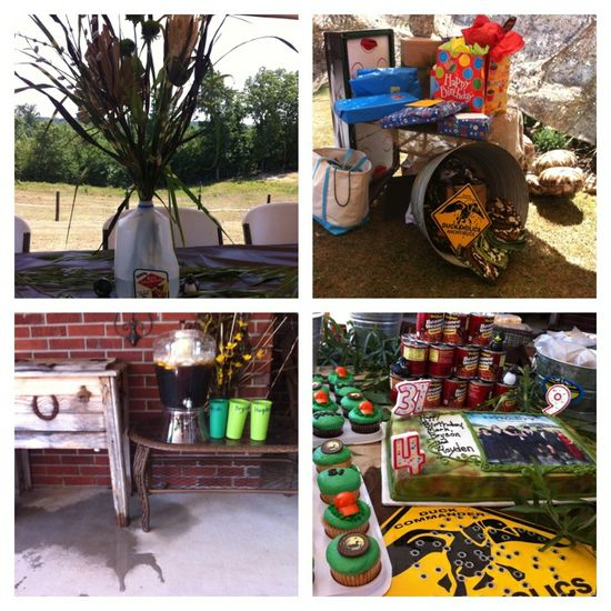 duck dynasty birthday party supplies
