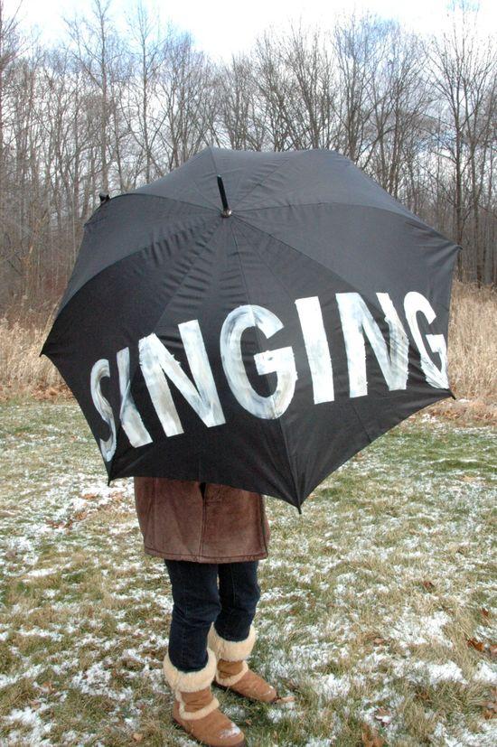 Singing in the Rain!