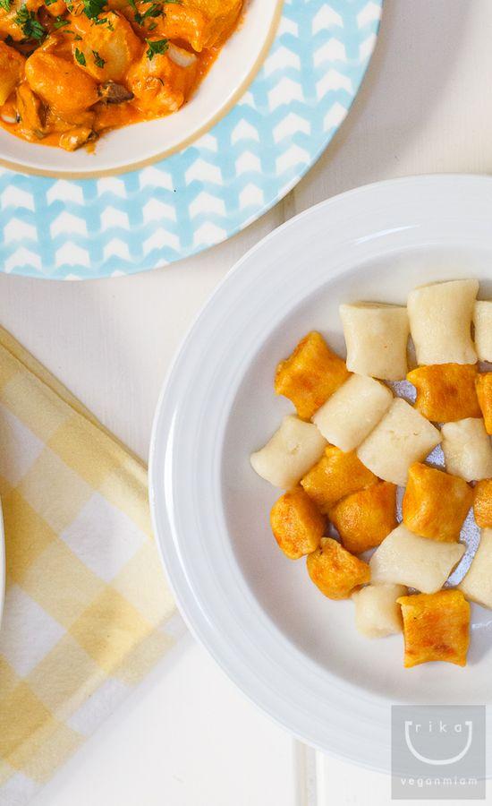 carrot/potato gnocchi