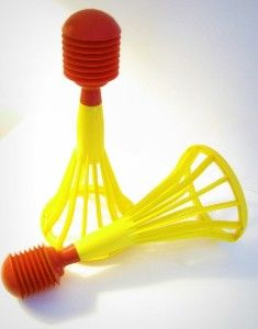 Tupperware toys!  Loved this one.