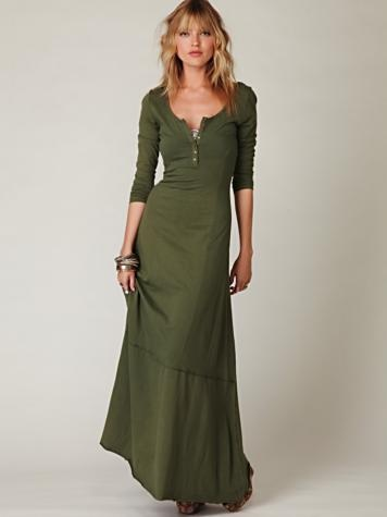 Miles-of-Henley dress...