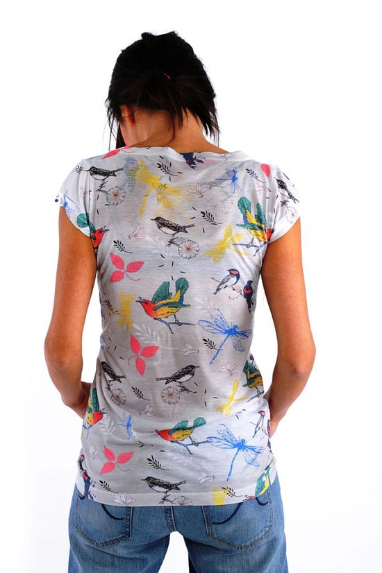 New Collection Spring birds little sparrows by nikacollection, $35.00