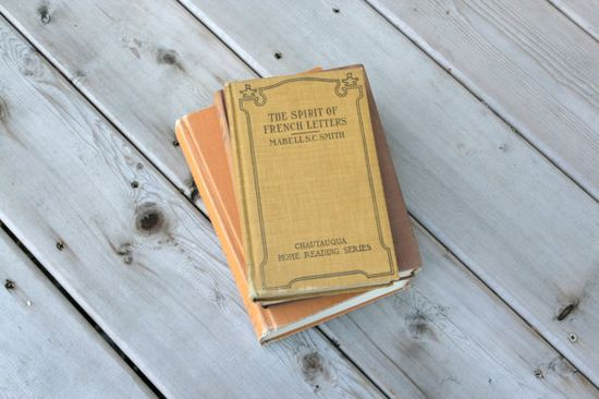 Vintage Antique Hard Cover Book by moccasinandmarrow, $15.00