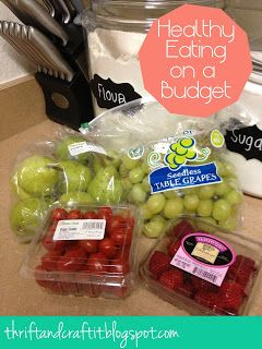 Thrift and Craft It: Healthy Eating on a Budget