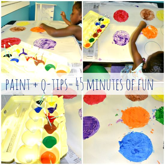 Painting ideas for kids!