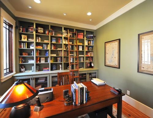 steve Woolridge traditional home office