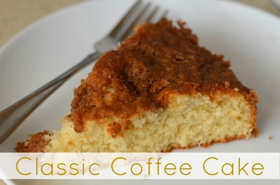 Classic Coffee Cake Recipe - this cake is tasty and easy to make