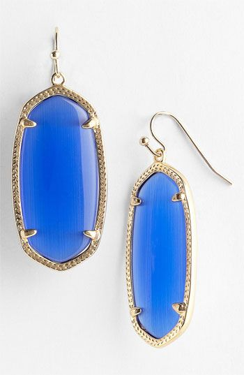 Kendra Scott 'Elle' Small Oval Earrings available at Nordstrom