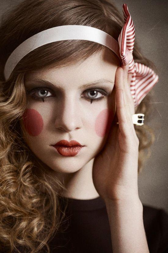 Doll makeup #costume #halloween