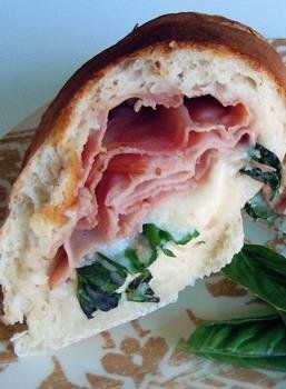 Ham & Mozzarella Stromboli #freezercooking #oamc #lunch #stromboli