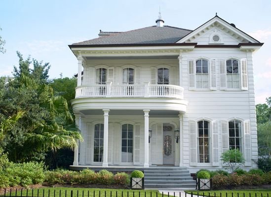 Historic New Orleans house. Architecture by William Sonner.