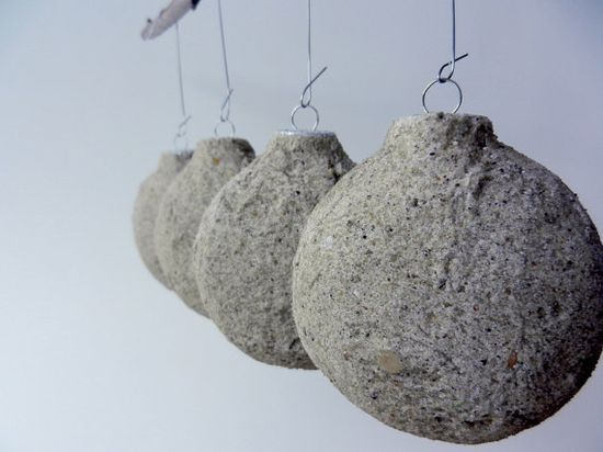 Beach Sand Ornaments / christmas ornaments / by CarriageOakCottage, $25.00