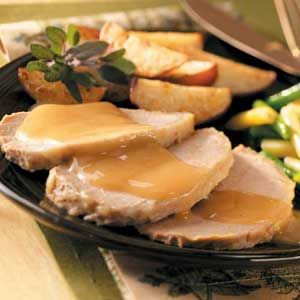 Apple-Dijon pork Roast from Taste of Home