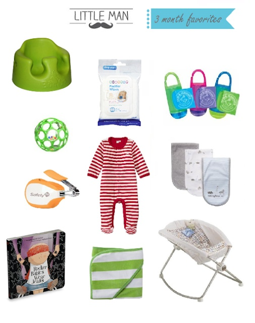 3 month favorite baby products www.myblossomingb...