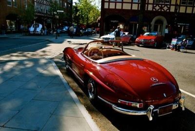 vintage sports car!